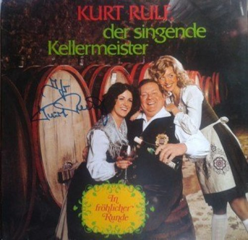 Bild 1: Kurt Rulf, In fröhlicher Runde