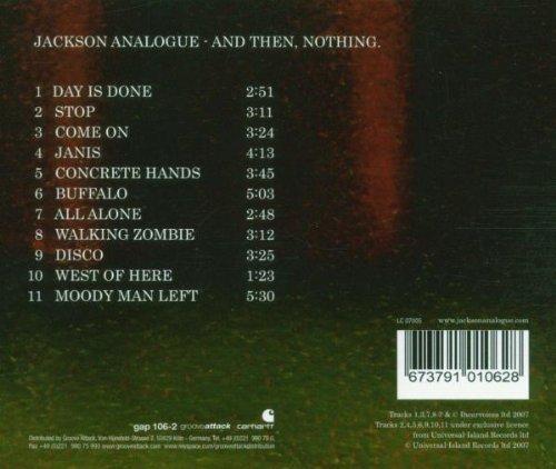 Bild 2: Jackson Analogue, And then, nothing (2007)