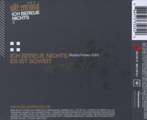 Bild 4: Silbermond, Ich bereue nichts (2009; 2 tracks)