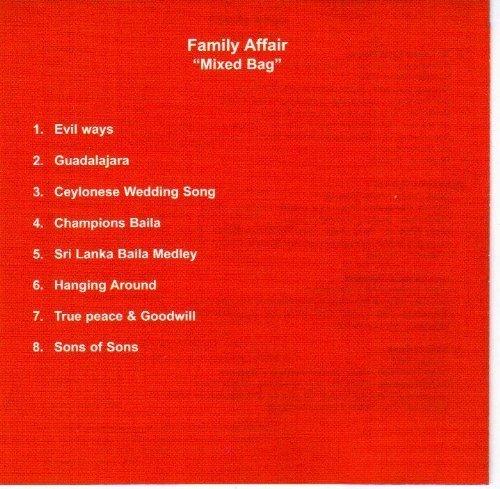 Bild 2: Family Affair (H. Fernando), Mixed bag (2002)