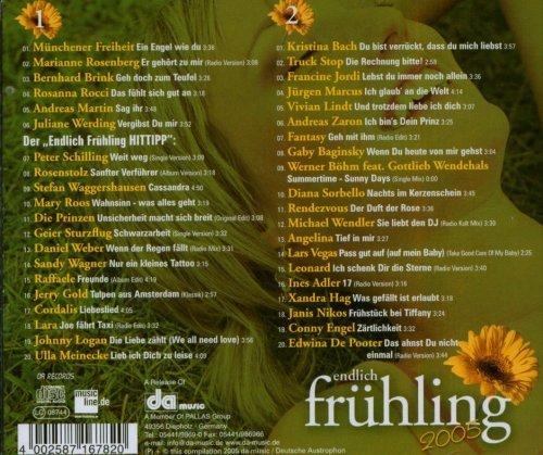 Bild 2: Endlich Frühling 2005, Münchener Freiheit, Marianne Rosenberg, Bernhard Brink, Rosanna Rocci..