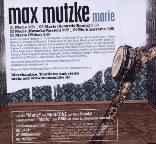 Bild 2: Max Mutzke, Marie (2008)