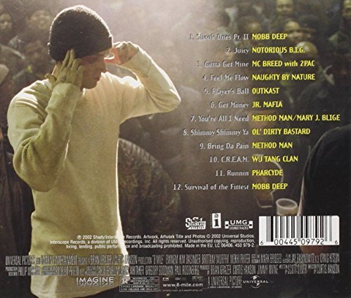 Bild 2: 8 Mile-More Music from (2002), Mobb Deep, Notorious B.I.G., Outkast..
