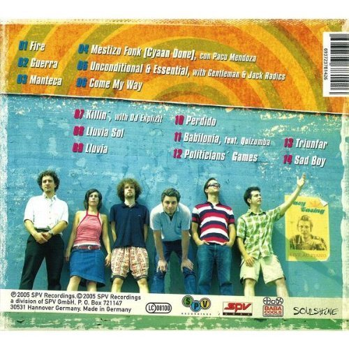 Bild 2: Les Babacools, Mundo stereo (2005)