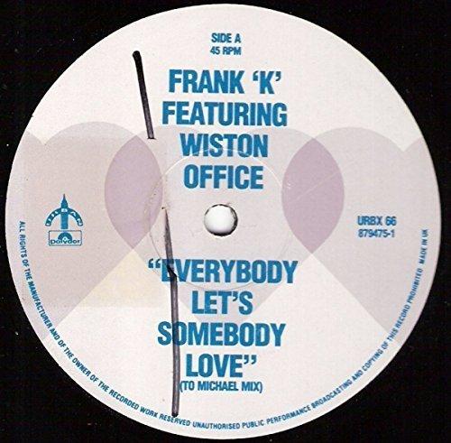 "Bild 1: Frank ""K"", Everybody let's somebody love (UK Pure Sex Remix, feat. Wiston Office, 1991)"