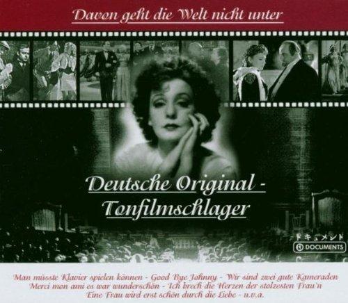Bild 1: Deutsche Original-Tonfilmschlager, Davon geht die Welt nicht unter: Zarah Leander, Johannes Heesters..