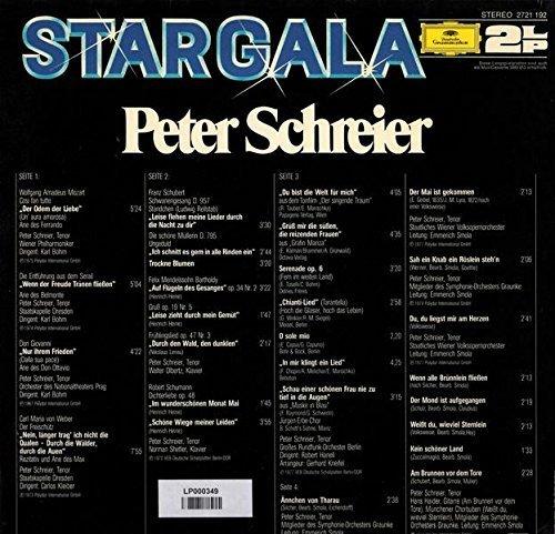 Bild 2: Peter Schreier, Stargala