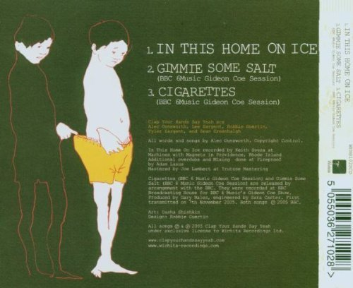 Bild 2: Clap Your Hands Say Yeah, In this home on ice (2005)
