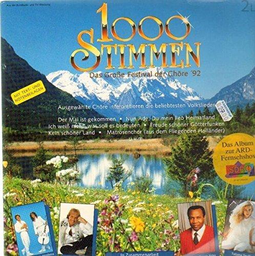 Bild 3: 1000 Stimmen (ARD, 1992), Das große Festival der Chöre