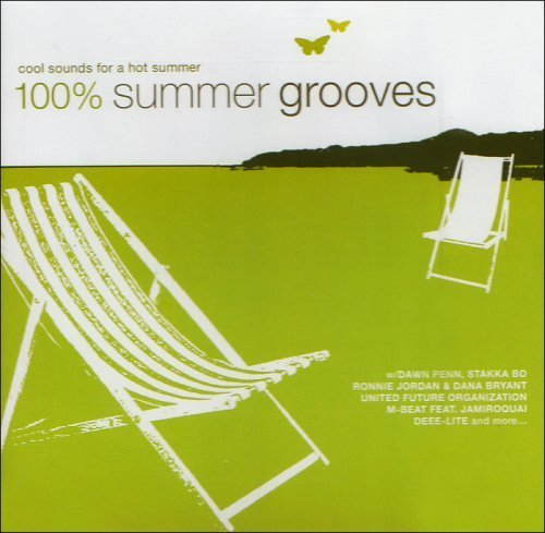 Bild 1: 100% Summer Grooves (16 tracks), Bob Marley vs. Funkstar de Luxe, Blue Boy, Bran Van 3000 feat. Curtis Mayfield..