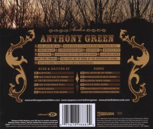 Bild 2: Anthony Green, Avalon (2008)
