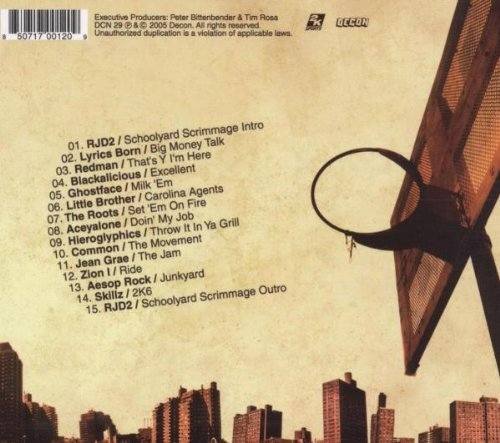 Bild 2: 2K6 (The Tracks; 15 tracks, 2005), RJD2, Lyrics Born, Redman, Blackalicious