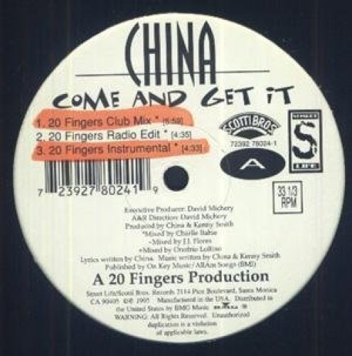 Bild 1: China, Come and get it (6 versions, 1995)