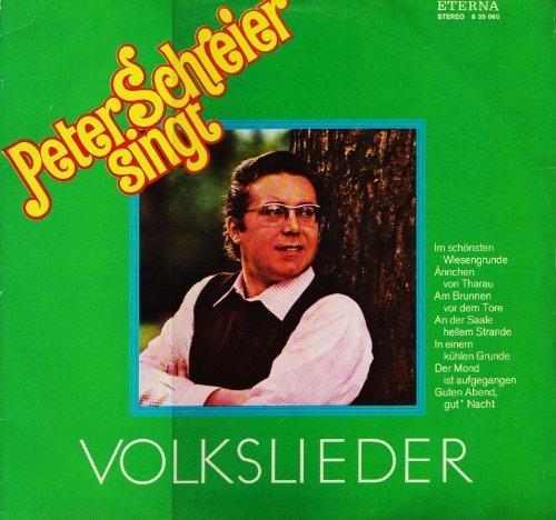 Bild 1: Peter Schreier, Singt Volkslieder (ETERNA)