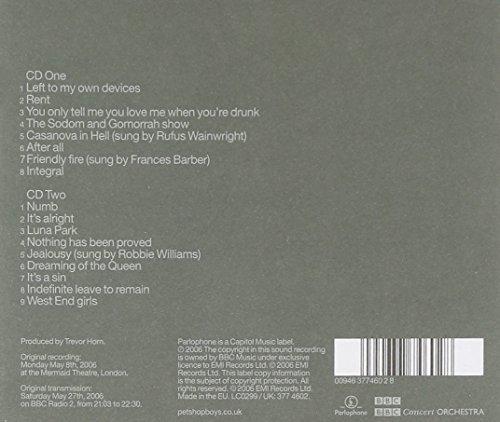 Bild 2: Pet Shop Boys, Concrete (2006, & BBC Concert Orch.)