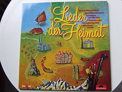 Image 1: Lieder der Heimat (#polydor2418695), Luis Trenker und Alfons Bauer, Maria und Margot Hellwig, Freddy Quinn, Westfälischen Nachtigallen..