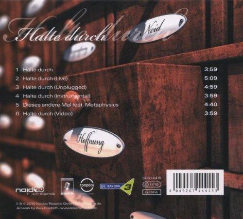 Bild 2: Xavier Naidoo, Halte durch (2010, digi)