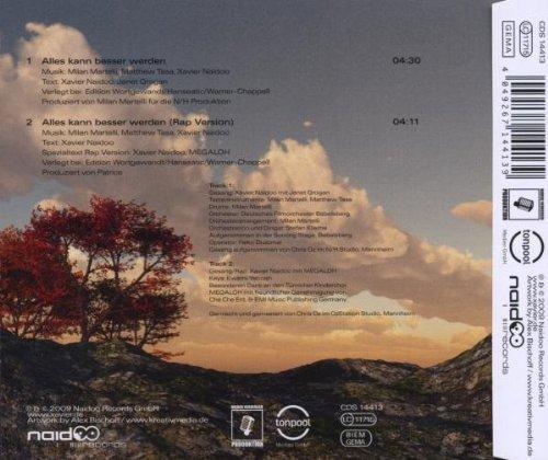 Bild 2: Xavier Naidoo, Alles kann besser werden (2 tracks, 2009)