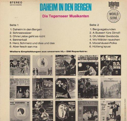 Bild 2: Tegernseer Musikanten, Daheim in den Bergen