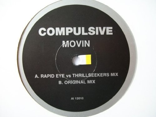 Bild 1: Compulsive, Movin' (UK, 2 versions)