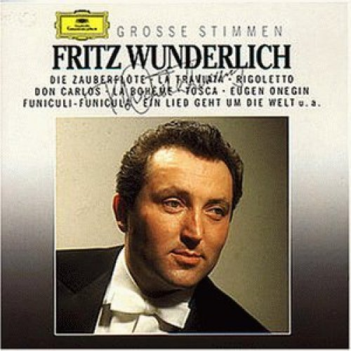 Bild 1: Fritz Wunderlich, Grosse Stimmen (Deutsche Grammophon)