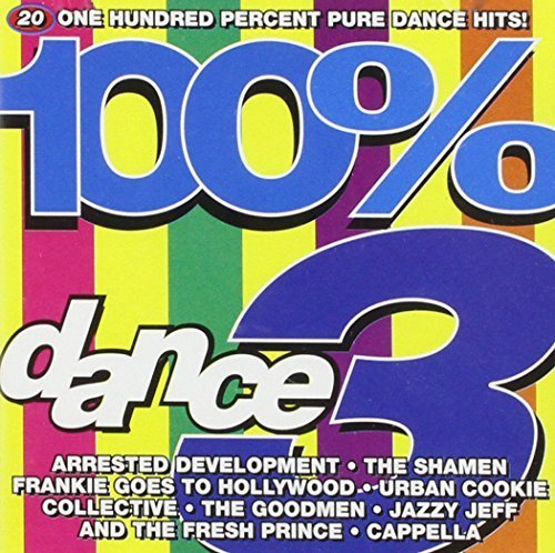 Bild 1: 100% Dance 3 (1993, UK), Cappella, Urban Cookie Collective, Goodmen, Frankie goes to Hollywood