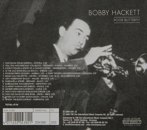 Bild 2: Bobby Hackett, Poor butterfly (past perfect silver line)