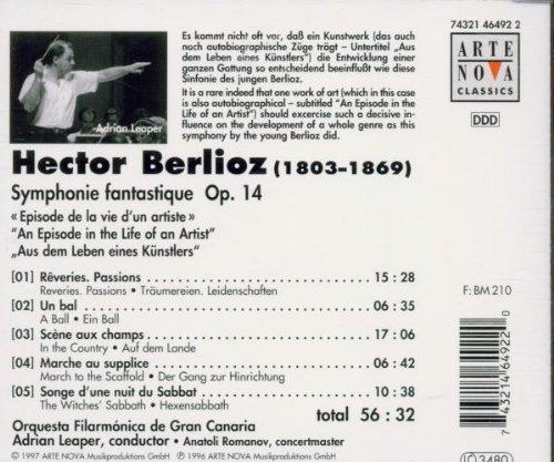 Bild 2: Berlioz, Symphonie fantastique, op. 14 (Orquesta Filarmoinca de Gran Canaria/Adrian Leaper)