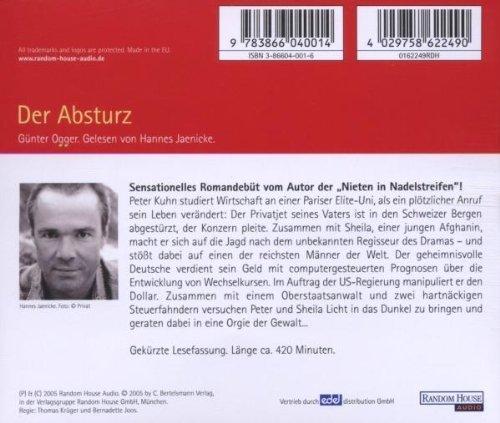 Bild 2: Günter Ogger, Der Absturz (gelesen von Hannes Jaenicke, 6 CD)