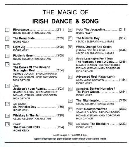 Bild 4: Magic of Irish dance & song, Celtic Celebration Allstars, Richie Kelly, Seamus Glackin, Brendan Begley...