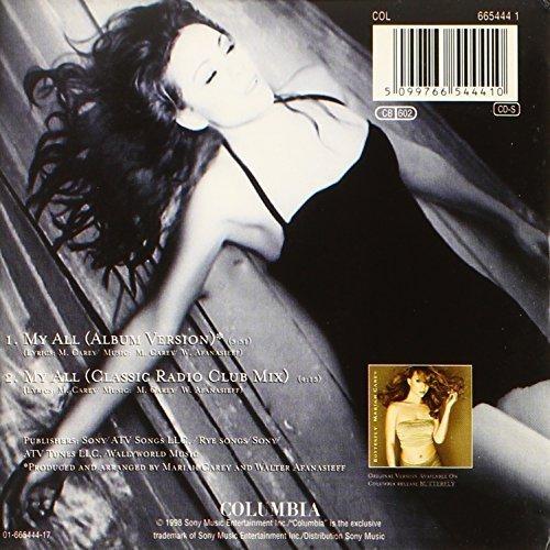 Bild 2: Mariah Carey, My all (1998, #6654441, cardsleeve)