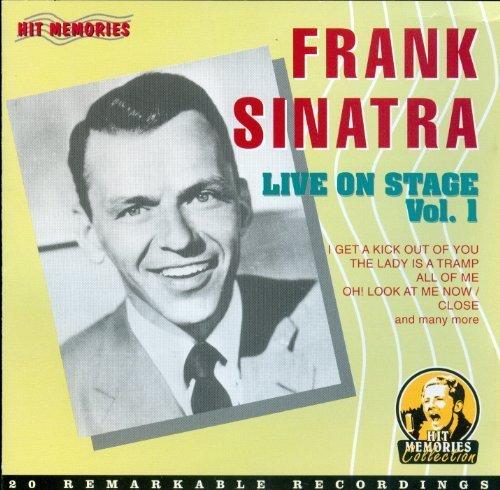 Bild 1: Frank Sinatra, Live on stage 1 (20 tracks)