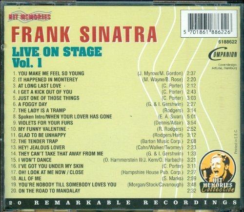 Bild 2: Frank Sinatra, Live on stage 1 (20 tracks)