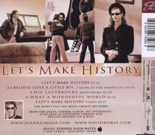 Bild 2: Joana Zimmer, Let's make history (2005, & David Bisbal)