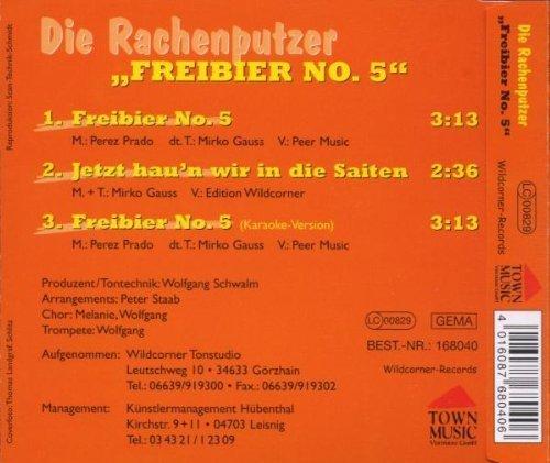 Bild 2: Die Rachenputzer, Freibier No. 5