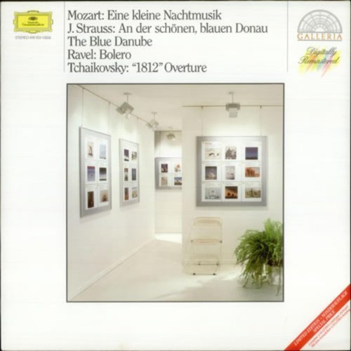 Bild 1: Mozart, Eine kleine Nachtmusik, KV 525/Strauss/Ravel/Tschaikowsky (DG) (Wiener/Berliner Philharmoniker/Böhm/Karajan/Ozawa)