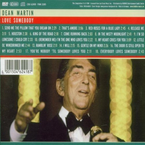 Bild 2: Dean Martin, Love somebody (compilation, 18 tracks, 2002)