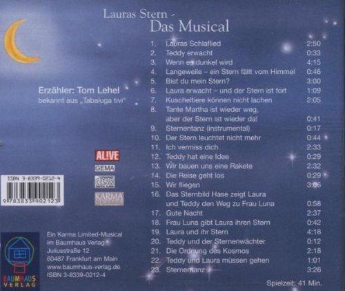 Image 2: Klaus Baumgart, Lauras Stern-Das Musical (Erzähler: Tom Lehel)