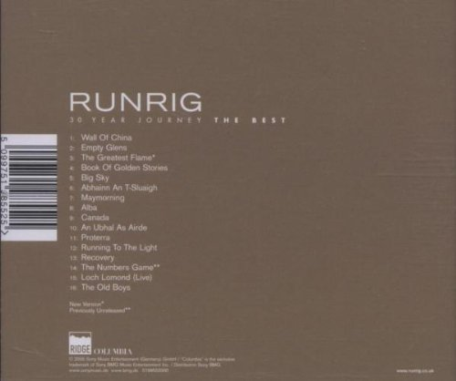 Bild 2: Runrig, 30 Year journey-The best (16 tracks)