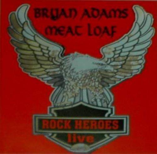 Bild 1: Bryan Adams, Rock heroes live & Meat Loaf (Split CD)