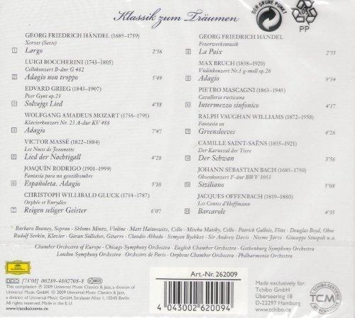 Bild 2: Klassik zum Träumen, Händel, Grieg, Max Bruch.. (DG, 2009)