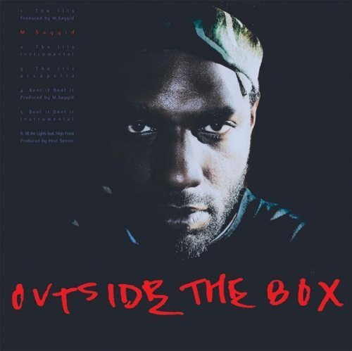 Bild 1: M. Sayyid, Outside the box (EP)