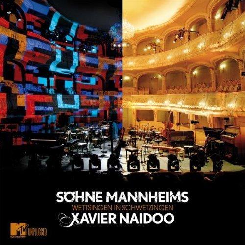 Bild 1: Xavier Naidoo, Wettsingen in Schwetzingen (2008, & Söhne Mannheims)