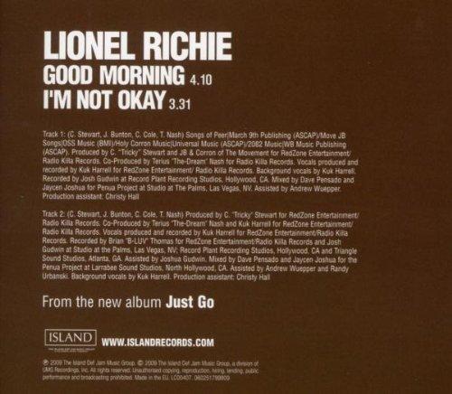 Bild 2: Lionel Richie, Good morning