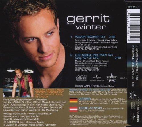 Bild 2: Gerrit Winter, Wovon träumst du (2009)