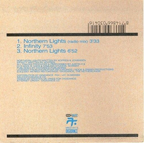 Bild 2: Justin K. & DJ K-Mixx, Northern lights / Infinity (2001, cardsleeve)