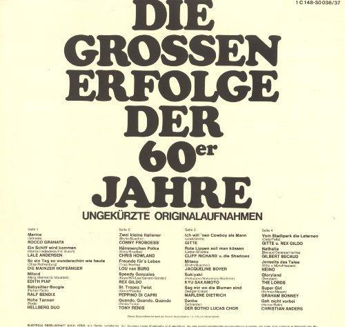 Bild 2: Weißt Du noch-Die großen Erfolge der 60er Jahre, Rocco Granata, Lale Andersen, Mainzer Hofsänger, Edith Piaf, Ralf Bendix...
