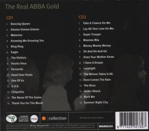 Bild 2: Abba, Real Abba gold (cover versions, not sung by Abba; #orange243)