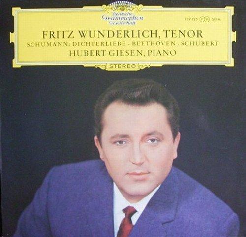 Bild 1: Fritz Wunderlich, Lieder von Beethoven & Schubert