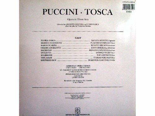 Bild 2: Puccini, Tosca (EMI) Renata Scotto, Placido Domingo...James Levine